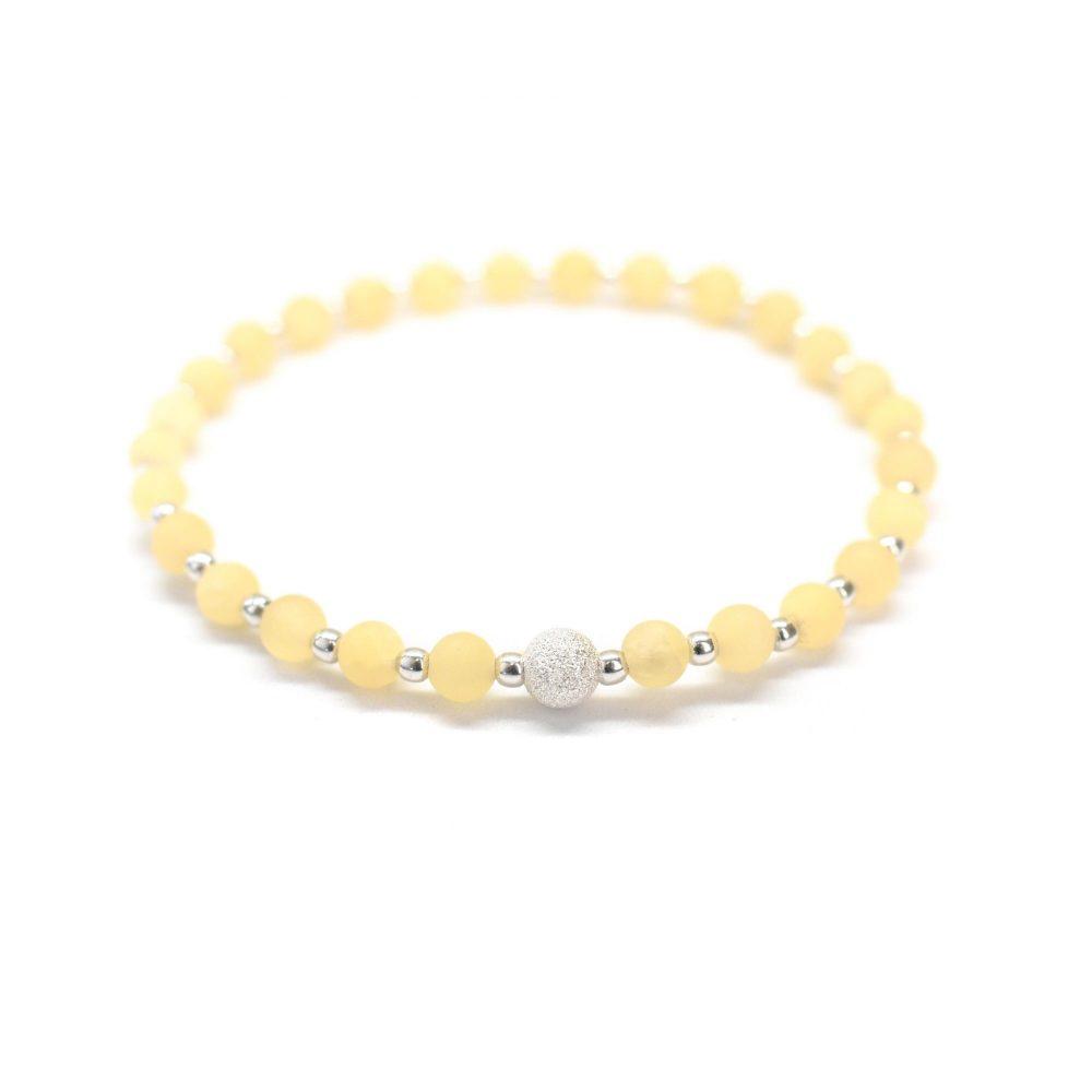 OMMO bracelet, beaded bracelet, gemstone bracelet, semi precious bracelet, yoga bracelet chakra bracelet, jade bracelet, Jade stone bracelet - 925 Sterling Silver - Tokyo Collection