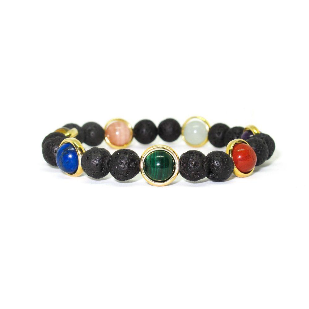 Luxury designer chakra bracelet, chakra bracelet for women, yoga bracelet, energy bracelet, spiritual bracelet uk