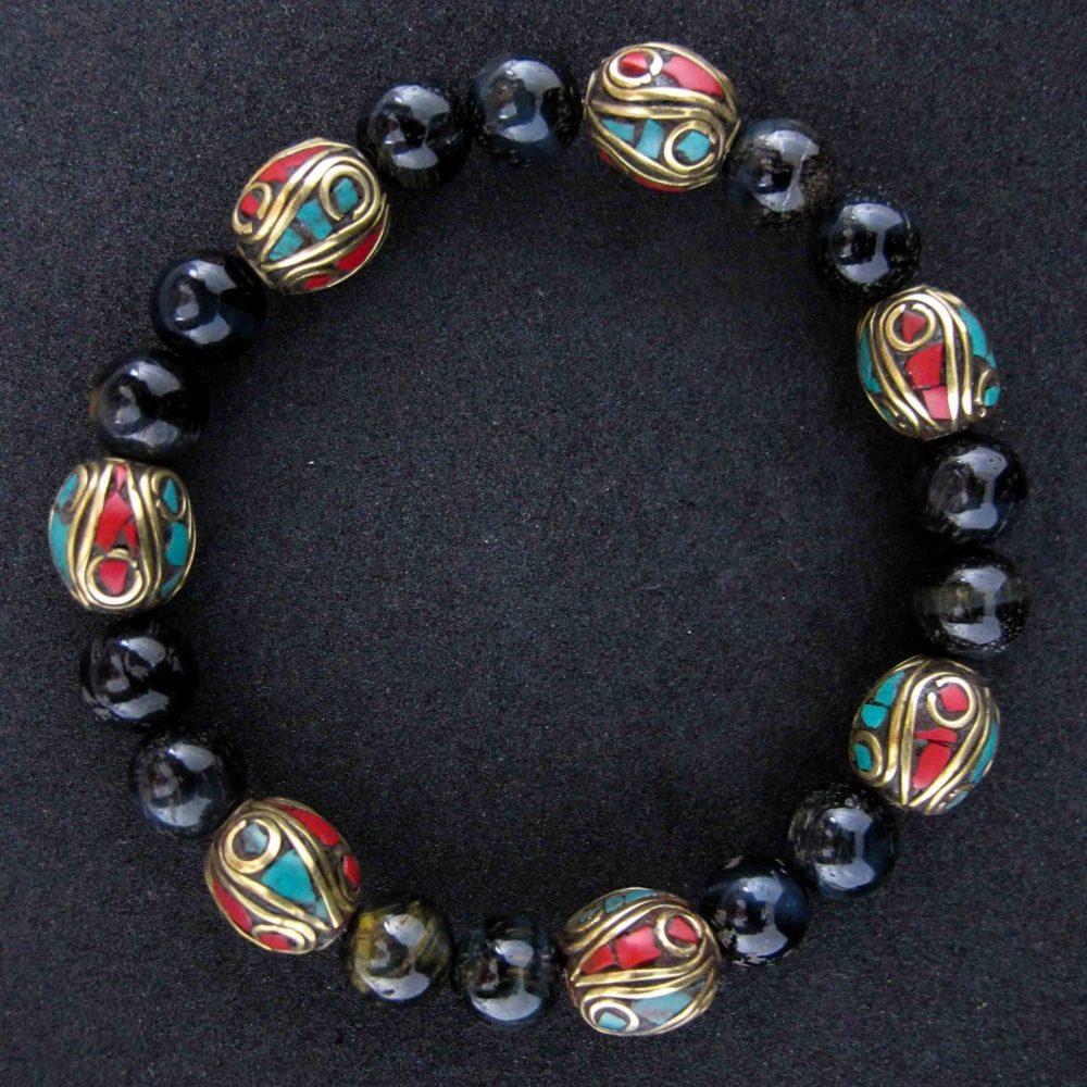 tigers eye, bracelet for men uk, brown bracelet for men, Tibetan bracelet for men or women