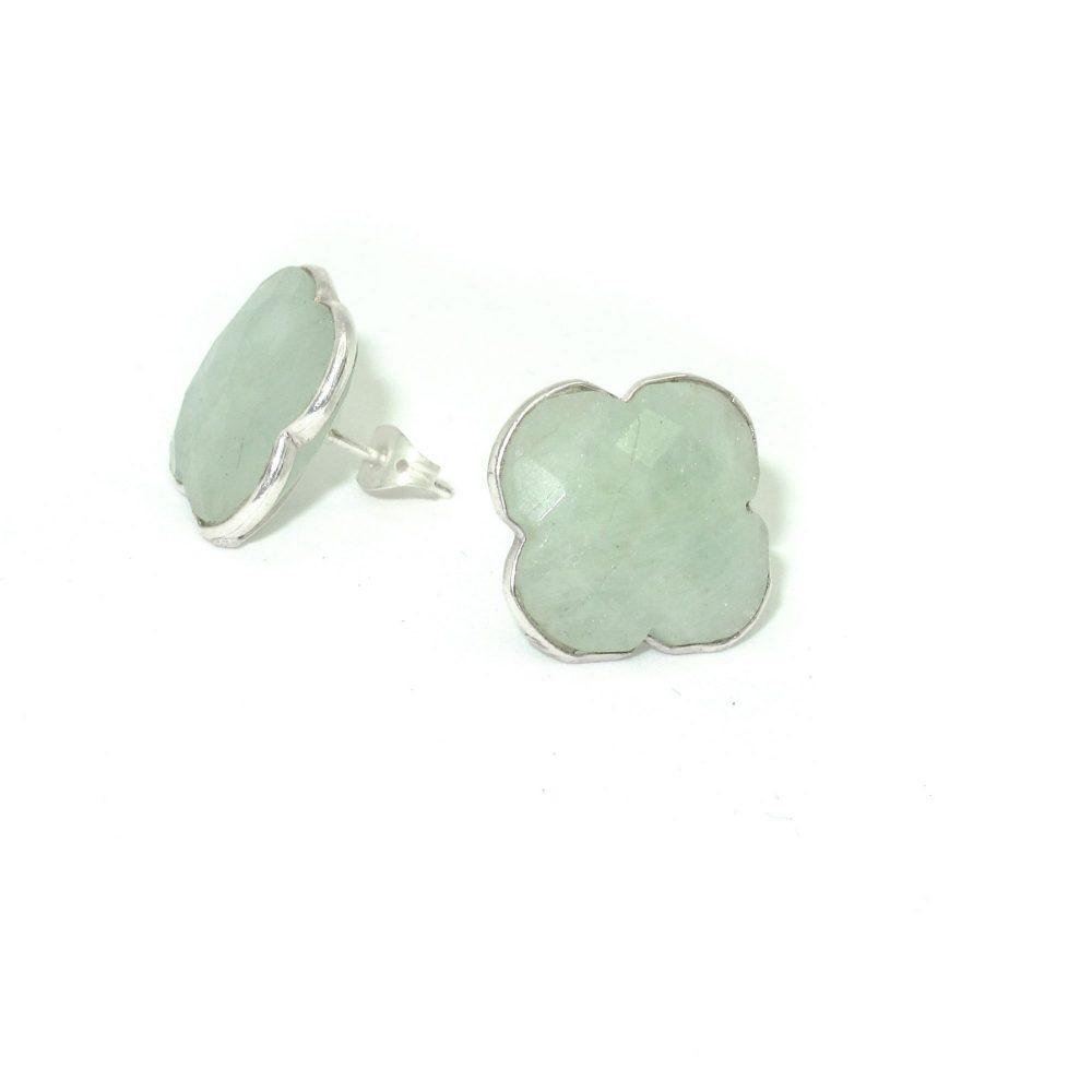 Statement earrings, designer earrings, milky aquamarine earrings, aquamarine and silver earrings, aquamarine jewellery, uk, AQUAMARINE AND SILVER EARRINGS