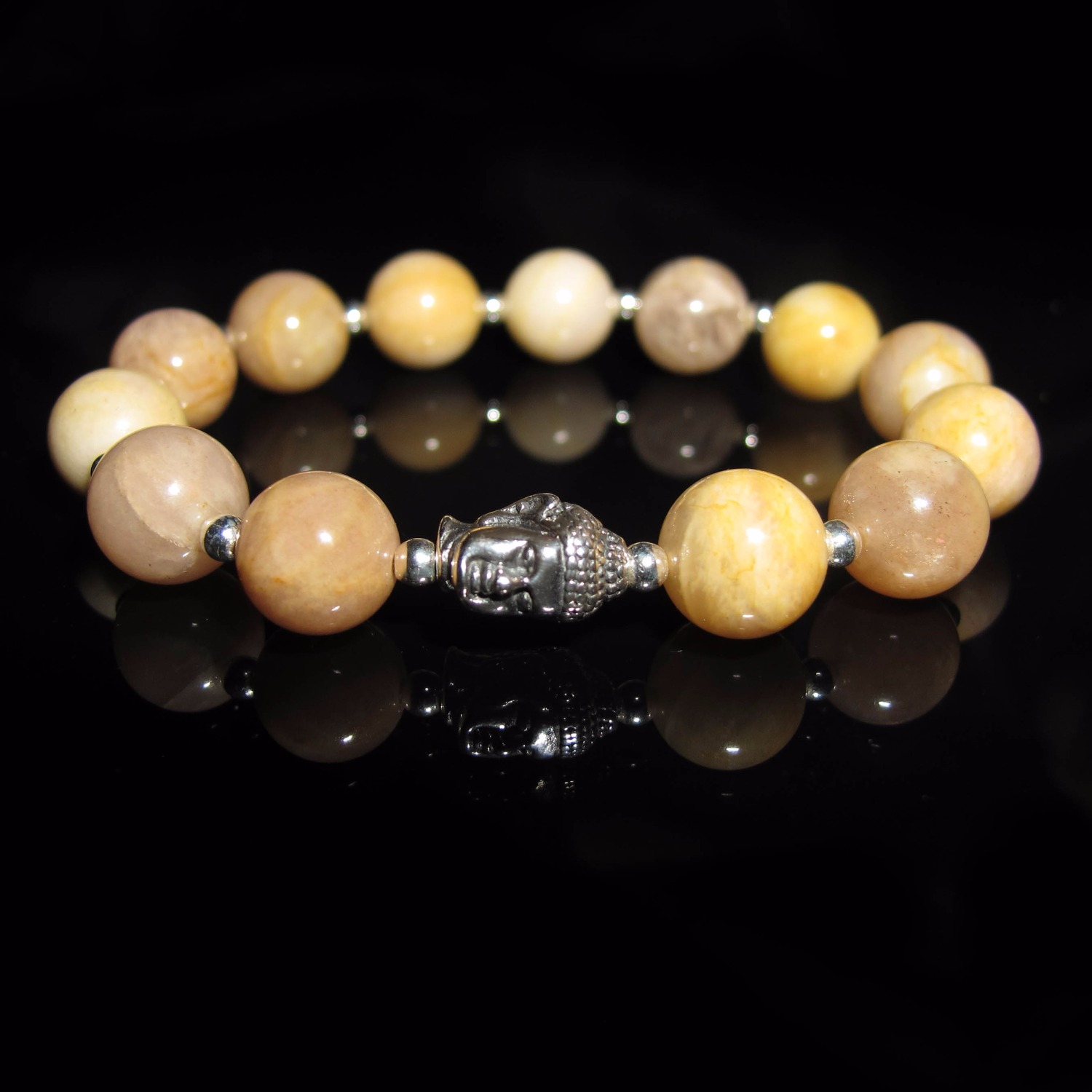 pink natural fullxfull healing gemstones quartz il bracelet calming stretch products opal stone