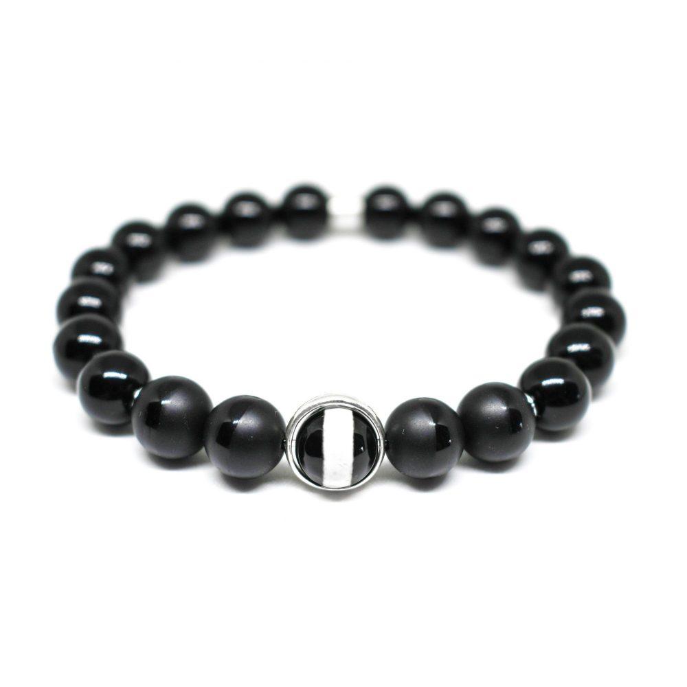 Mens Onyx Bracelet, mens jewellery, mens accessories, bracelet for men, black bracelet, mens bracelets