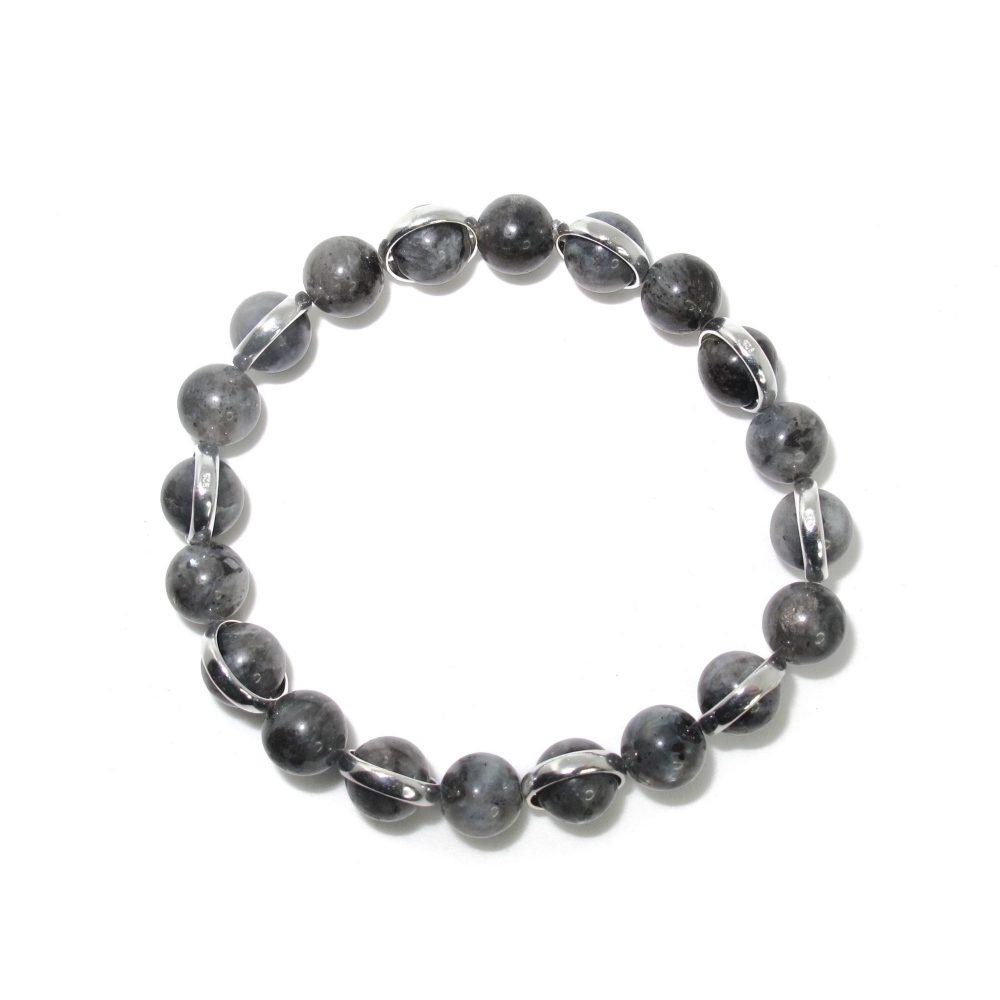 labradorite beaded bracelet, bracelet for men, jewellery for men, bracelets for men, present for him, OMMO Bracelet