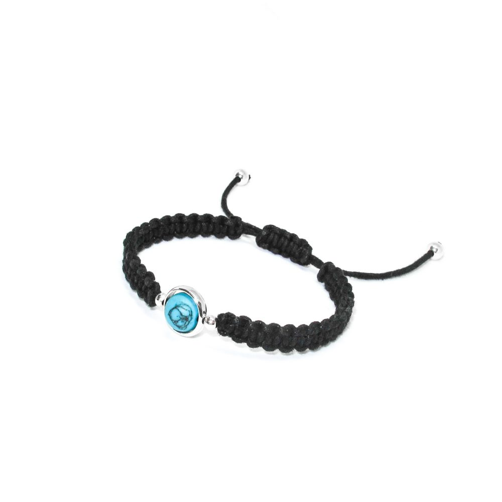 shamballa bracelet, friendship bracelet, his and hers, matching bracelets, designer bracelet, knotted bracelet, tigers eye, Turquoise and Silver Cord Bracelet