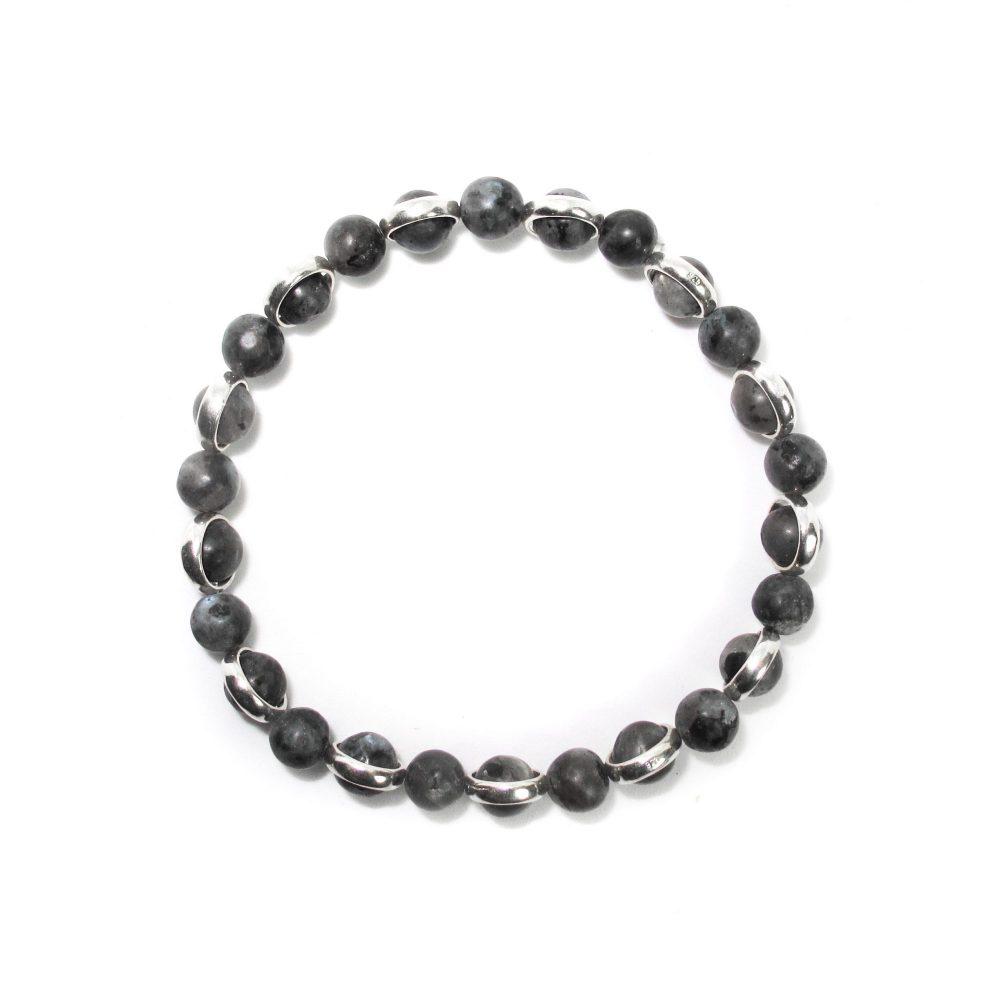 labradorite gemstone bracelet, healing stone bracelet, labradorite stacking bracelet,Labradorite Wrist Mala, wristband, OMMO Bracelet