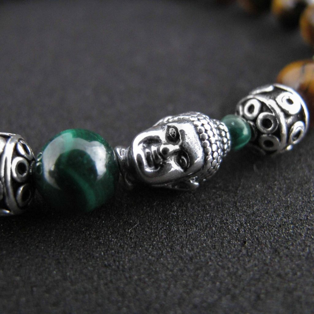 spiritual bracelets, buddha bracelets, tigers eye bracelet, OMMO bracelet, tigers eye and buddha bracelet, luxury bracelet for men, luxury tigers eye bracelet