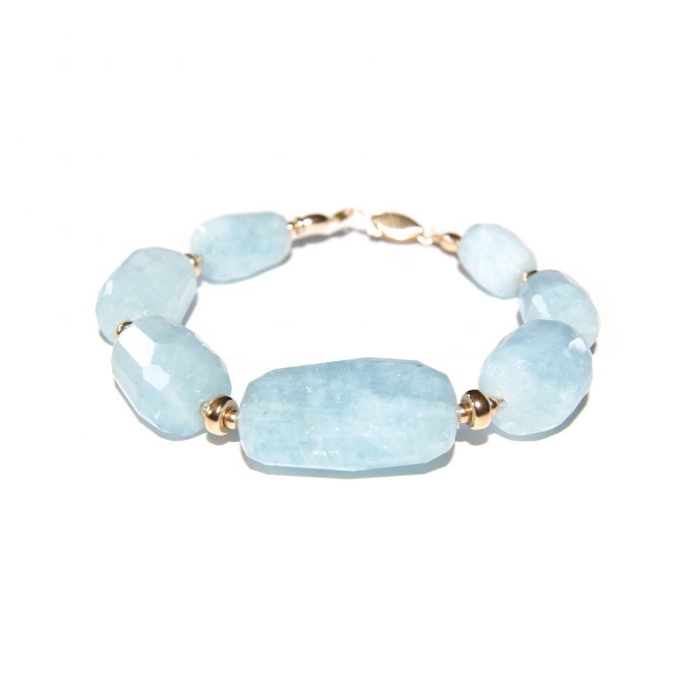 Aquamarine and Gold bracelet, luxury aquamarine bracelet, aquamarine chunky bracelet, designer aquamarine bracelet, aquamarine jewellery, gold bracelet for women, blue bracelet, present for her, aquamarine jewelry, aquamarine stone, luxury bracelet, unique bracelet
