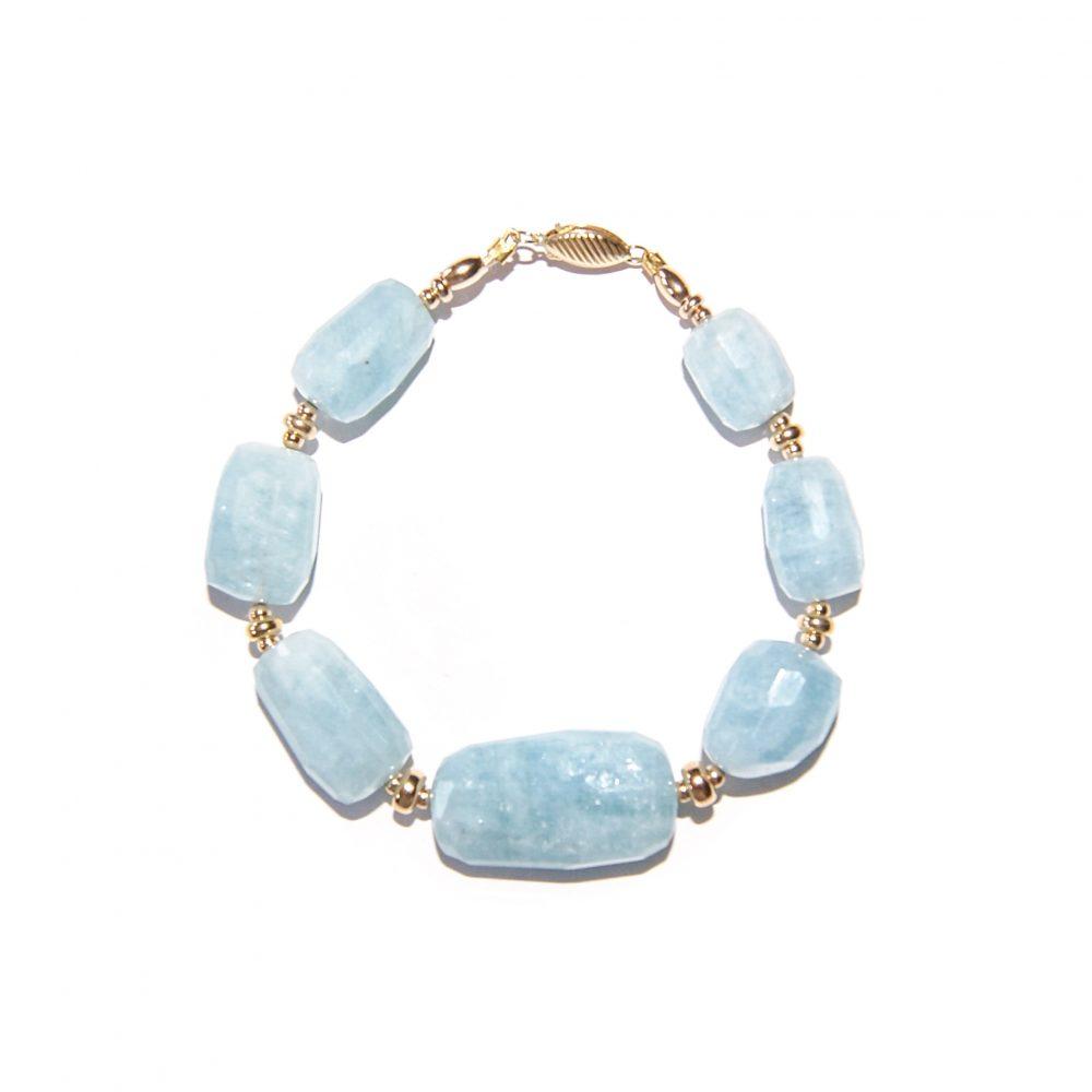 Aquamarine and Gold bracelet, luxury aquamarine bracelet, aquamarine chunky bracelet, designer aquamarine bracelet, aquamarine jewellery, gold bracelet for women, blue bracelet, present for her, aquamarine jewelry, aquamarine stone, luxury bracelet, unique bracelet