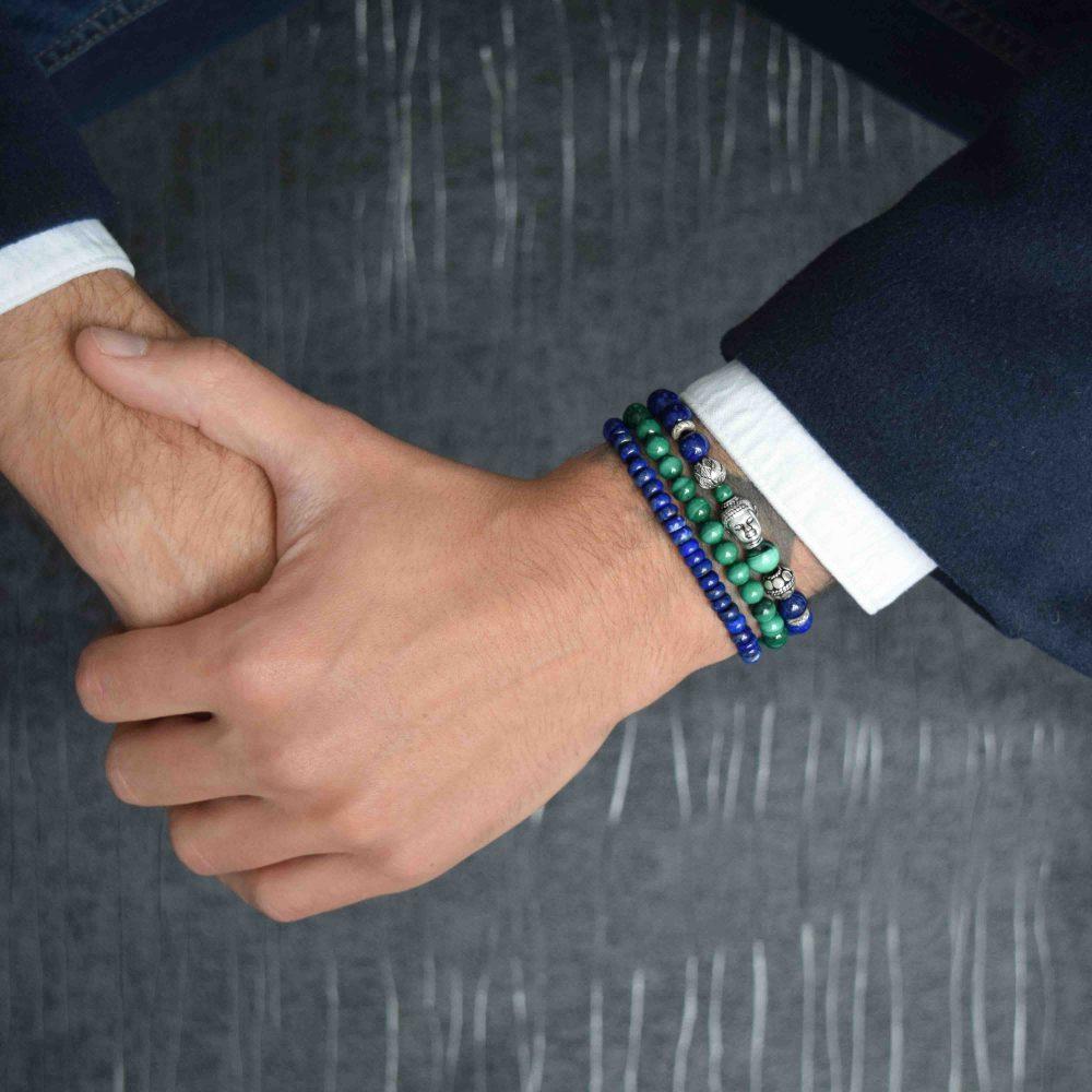 Lapis Lazuli Bracelet for men, designer bracelet, buddha bracelet for men, mens buddha bracelet. spiritual bracelet, malachite bracelet, 925 buddha bracelet, designer beaded bracelet, mens luxury bracelet, healing bracelet, healing jewellery