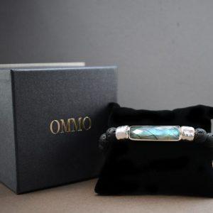 Labradorite and Lava Bracelet, labradorite bracelet, lava bracelet, beaded bracelet for men, unique bracelet for men, mens beaded bracelet labradorite, labradorite and silver bracelet, lava and silver bracelet