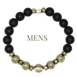 OMMO London beaded Bracelets Mens bracelet