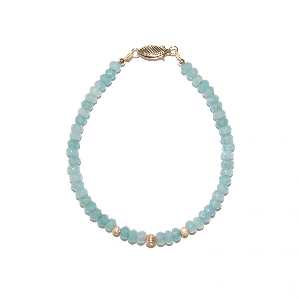 Chalcedony bracelet, Chalcedony and gold bracelet, Chalcedony jewellery, luxury Chalcedony bracelet, Chalcedony beaded bracelet, ommo bracelet, Chalcedony necklace, blue bracelet