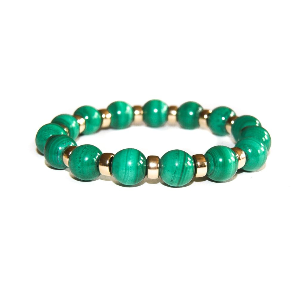gift ideas, gifts for her, gifts for him, jewellery gifts, gifts with a meaning, birthday gifts, valentines gifts, anniversary gifts, malachite bracelet, malachite and gold bracelet