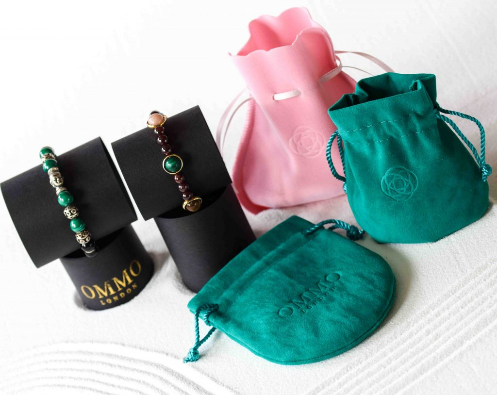 OMMO London luxury spiritual jewellery, UK, beaded bracelets for men, beaded bracelets for women, luxury chakra bracelets