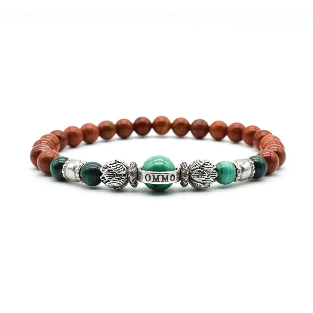 red jasper lotus bracelet, buddha bracelet, spiritual bracelets, buddha bracelets for men