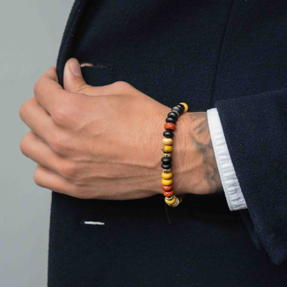 Rondelle Bracelet for men, designer bracelet, buddha bracelet for men, mens buddha bracelet. spiritual bracelet, malachite bracelet, 925 buddha bracelet, designer beaded bracelet, mens luxury bracelet, healing bracelet, healing jewellery