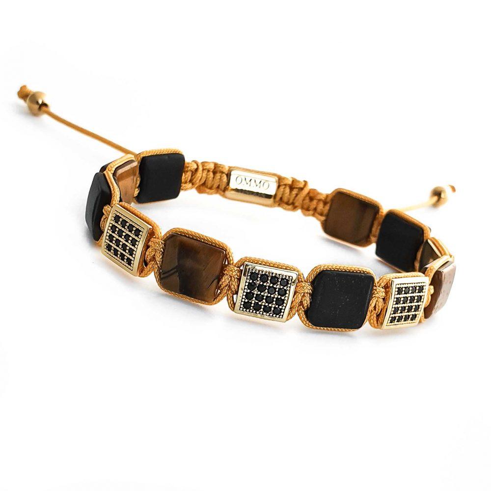 designer mens bracelet shamballa, shamballa bracelet OMMO London   UK, designer bracelet for men