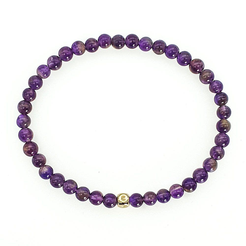 14k Gold and Amethyst Bracelet, purple bracelet, luxury bracelet for men, luxury bracelet for women, designer bracelet for men, designer bracelet for women, aquarious bracelet, healing bracelet, crystal bracelet, 14k gold bracelet