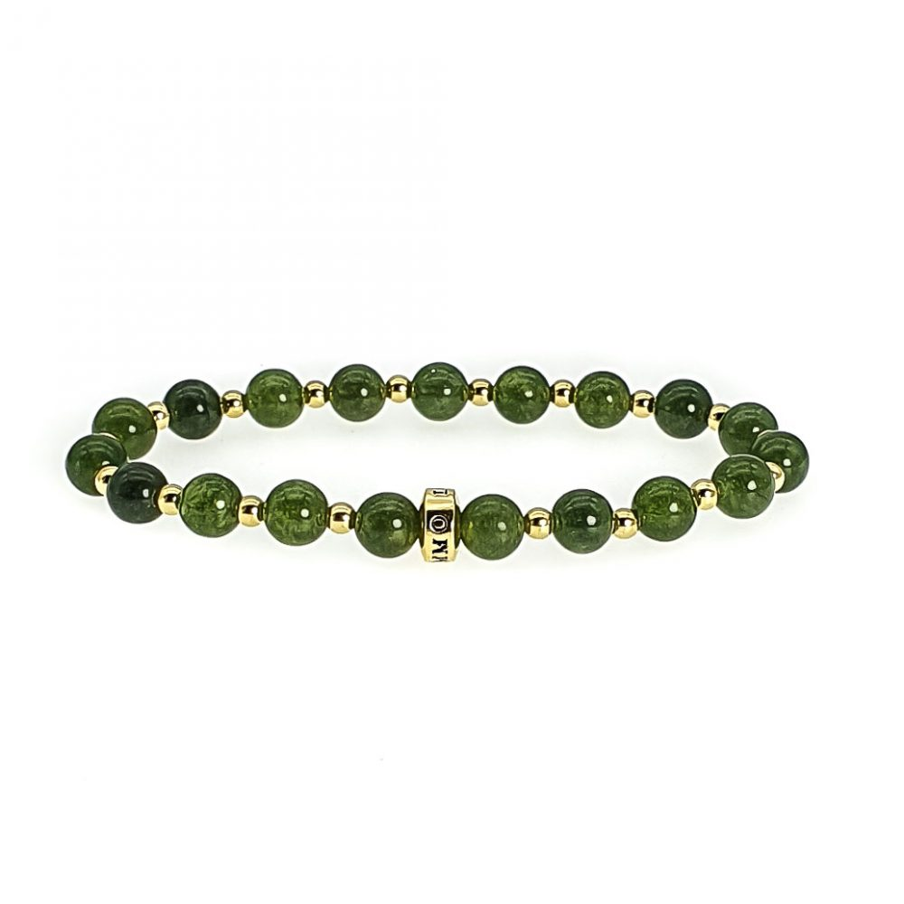 Green Jade Bracelet, jade and gold bracelet, luxury jade bracelet, green rbacelet with gold, designer bracelet, healing bracelet, crystal bracelet